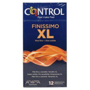 162690 - CONTROL FINISSIMO XL PRESERVATIVOS 12 U