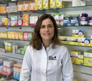 Farmaceutica especializada en Nutrición y Dietética